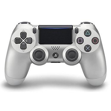 Sony DualShock 4 v2 (argent) Manette officielle sans fil pour PlayStation 4