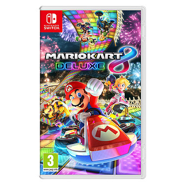 Mario Kart 8 Deluxe (Switch) Jeu Switch Course 3 ans et plus