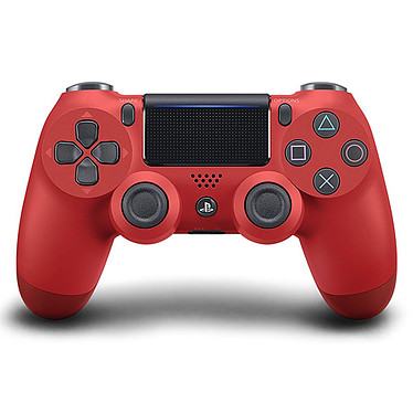 Sony DualShock 4 v2 (rouge)  Manette officielle sans fil pour PlayStation 4