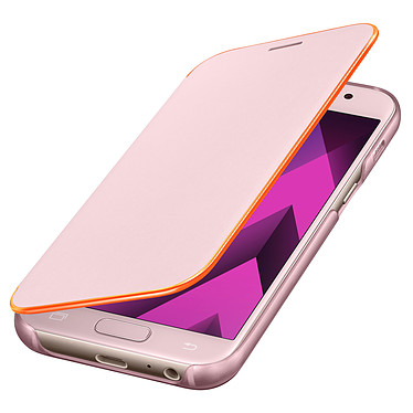 Samsung Flip Cover Neon Rose Samsung Galaxy A3 2017