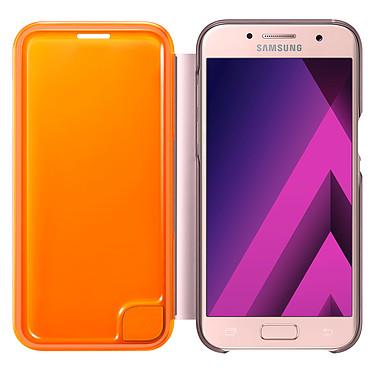 Avis Samsung Flip Cover Neon Rose Samsung Galaxy A3 2017