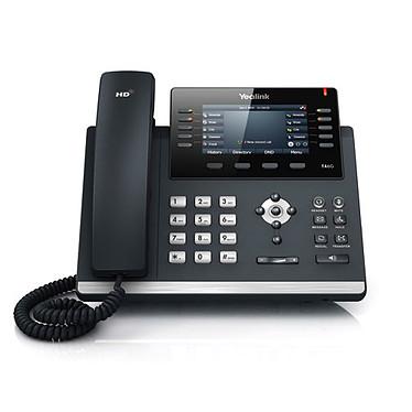 Yealink T46G Teléfono VoIP de 16 líneas, PoE, puerto Gigabit Ethernet dual