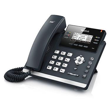 Yealink T41P Téléphone SIP 6 lignes, PoE, double port Fast Ethernet