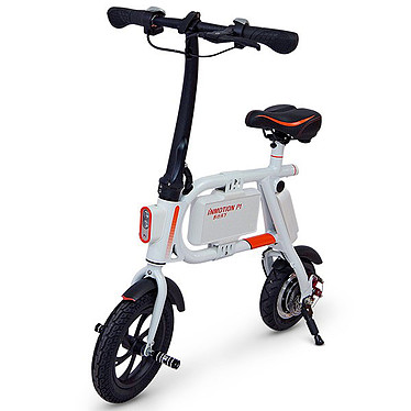 Inmotion P1 Blanc/Orange Mini-scooter électrique IP54 - 30 kmh - Autonomie 20 km