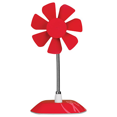 Arctic Breeze (Rouge) Ventilateur de bureau sur port USB
