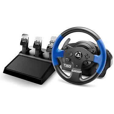 Thrustmaster T150 Pro Force Feedback Ensemble volant à retour de force + pédalier compatible PC / PlayStation 3 (PS3) / PlayStation 4 (PS4)