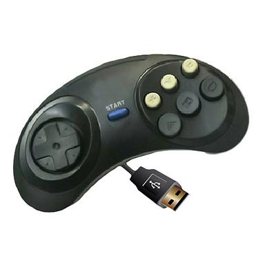 Manette USB pour rétrogaming (Sega Megadrive) Manette Sega Megadrive filaire USB pour PC et Mac