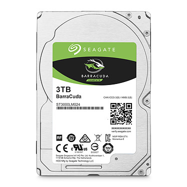 Avis Seagate BarraCuda 3 To (ST3000LM024)