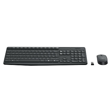 Avis Logitech Wireless Combo MK235