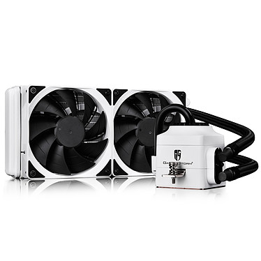 DeepCool Gamer Storm Captain 240EX V2 (Blanc)