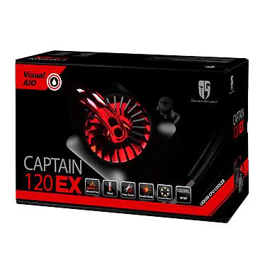 Gamer Storm Captain 120EX (Noir/Rouge) pas cher