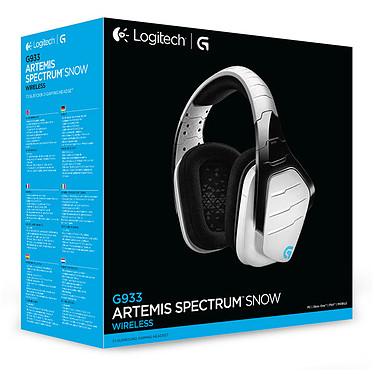 Logitech G933 Artemis Spectrum RGB Wireless 7.1 Surround Gaming Headset (Blanc) pas cher