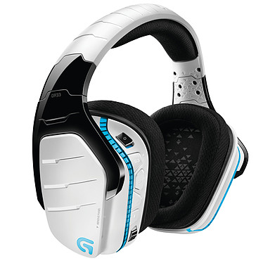 Acheter Logitech G933 Artemis Spectrum RGB Wireless 7.1 Surround Gaming Headset (Blanc)