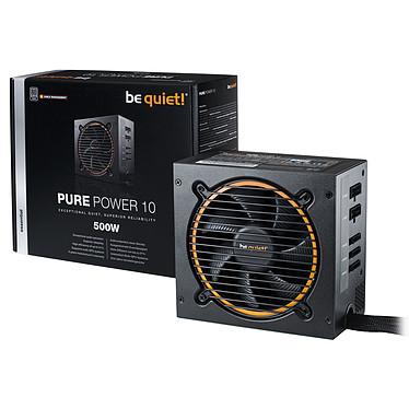 Avis be quiet! Pure Power 10 Modulaire 500W 80PLUS Silver