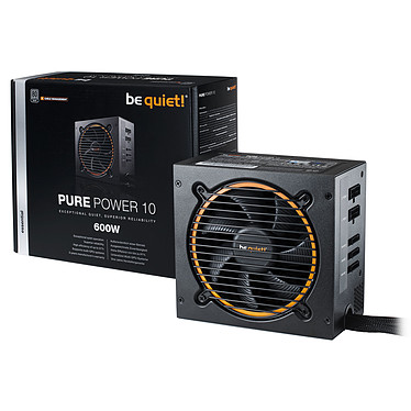 Avis be quiet! Pure Power 10 Modulaire 600W 80PLUS Silver