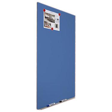 Rocada Tableau bleu métallique 75 x 115 cm
