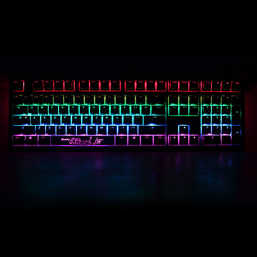 Ducky Channel Shine 6 (Cherry MX RGB Red) pas cher