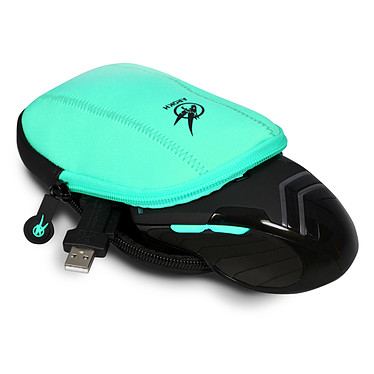 Opiniones sobre Arokh Mouse Pouch (negro/verde)