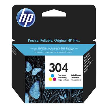 HP 304 Cyan, Magenta, Jaune (N9K05AE) Cartouche d'encre 3 couleurs (100 pages à 5%)