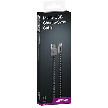 Comprar Cabstone Cable Micro-USB a USB 2 m