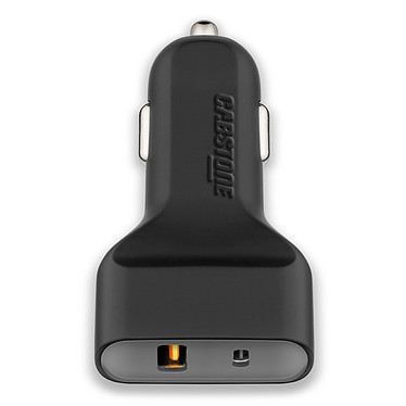 Cabstone Quick Charge USB Type-C Car Charger Chargeur allume-cigare compact avec port USB Type-C et charge rapide (compatible tablette, smartphone...)