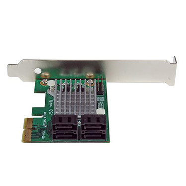 Acheter StarTech.com Carte contrôleur PCI-E x2 (4 ports SATA III) avec fonction HyperDuo