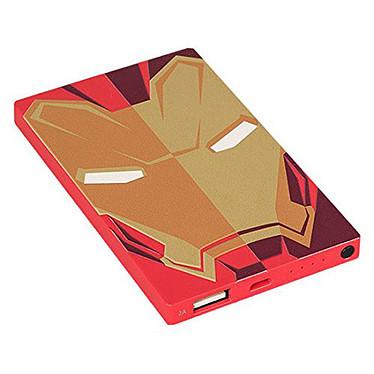 Powerbank Marvel Iron Man 4000 mAh  Batterie externe 4000 mAh sur port USB - Marvel Iron Man