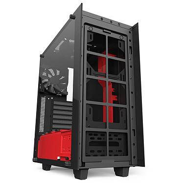 Avis NZXT S340 Elite (Noir/Rouge)
