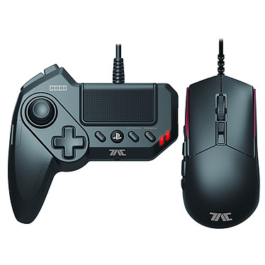 Hori Tactical Assault Commander Grip (PS3/PS4) Controlador + ratón óptico para PS3 y PS4
