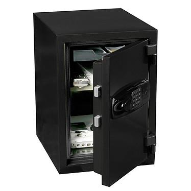 Hartmann Tresore Coffre-fort HEF0030N4 Coffre-fort ignifuge 27.5 litres avec serrure électronique avec code