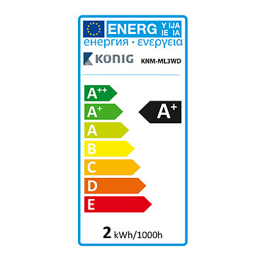 Comprar König USB TV Mood Light (KNM-ML3WD)