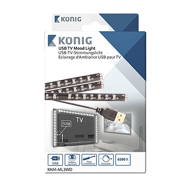Opiniones sobre König USB TV Mood Light (KNM-ML3WD)