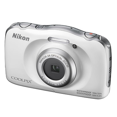Avis Nikon Coolpix W100 Blanc
