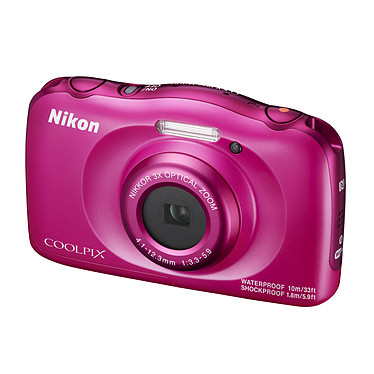 Avis Nikon Coolpix W100 Rose