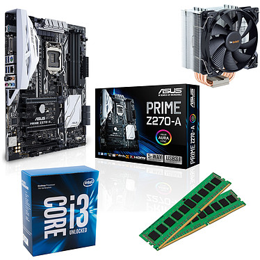 Kit Upgrade PC Core i3K ASUS PRIME Z270-A 8 Go