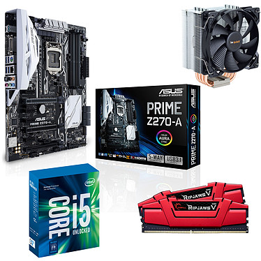 Kit Upgrade PC Core i5K ASUS PRIME Z270-A 16 Go