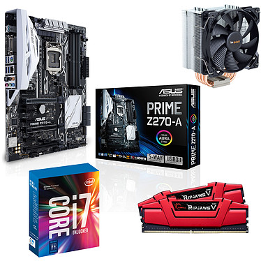Kit Upgrade PC Core i7K ASUS PRIME Z270-A 16 Go