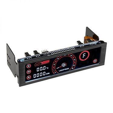 Lamptron CM430 Noir/Rouge Rhéobus 4 canaux avec écran tactile