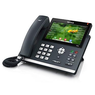"""Yealink T48G Téléphone VoIP 16 lignes, écran tactile 7"""" 800 x 480 pixels, PoE, double port Gigabit Ethernet"""