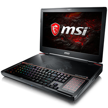 "MSI GT83VR 7RE-231FR Titan SLI Intel Core i7-7820HK 32 Go SSD 512 Go (2x 256 Go) + HDD 1 To 18.4"" LED Full HD NVIDIA GeForce GTX 1070 8 Go SLI Graveur Blu-ray Wi-Fi AC/Bluetooth Webcam Windows 10 Famille 64 bits (garantie constructeur 2 ans)"