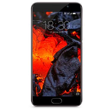 "Meizu Pro 6 Plus Gris Smartphone 4G-LTE Advanced Dual SIM - Exynos 8890 8-Core 2.0 Ghz - RAM 4 Go - Ecran tactile 5.7"" 1440 x 2560 - 64 Go - NFC/Bluetooth 4.0 - 3400 mAh - Android 6.0"