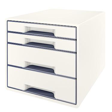 Leitz Bloc de classement à tiroirs WOW Blanc