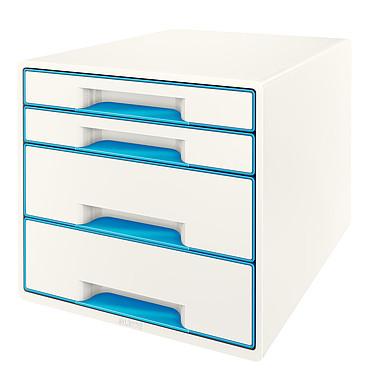 Leitz Bloc de classement à tiroirs WOW Bleu