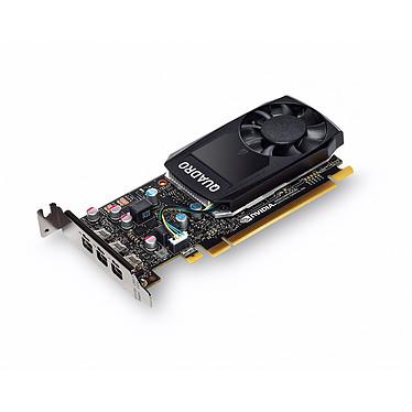 PNY Quadro P400 DVI 2 Go - 3 x Mini DisplayPort - PCI Express 3.0 x16 + 3 adaptateurs vers DVI-D SL