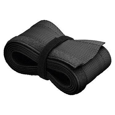 Goobay WireSleeve Negro Manguito flexible para cables - 1,8 m