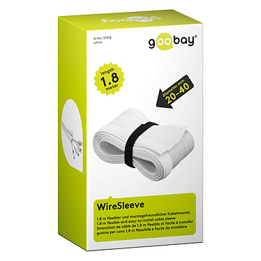 Avis Goobay WireSleeve Blanc