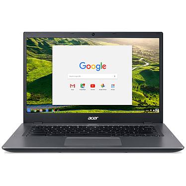 "Acer Chromebook 14 CP5-471-C67N Intel Celeron 3855U 4 Go eMMC 32 Go 14"" LED HD Wi-Fi AC/Bluetooth Webcam Chrome OS"