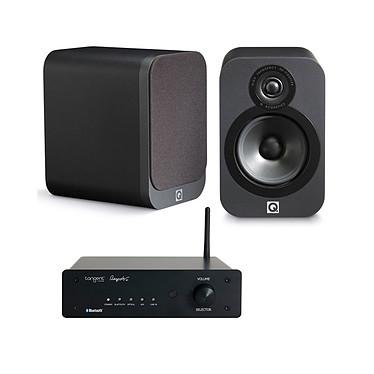 Tangent Ampster BT + Q Acoustics 3020 Graphite