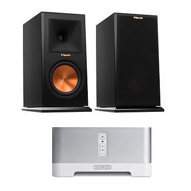 Sonos CONNECT AMP + Klipsch RP-160M Ebony