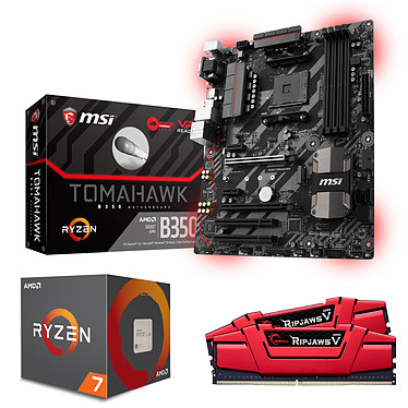 Kit Upgrade PC AMD Ryzen 7 1700 MSI B350 TOMAHAWK 16 Go